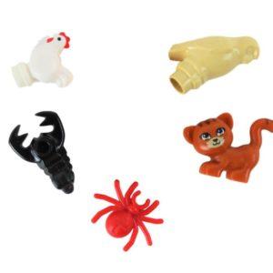5 Small LEGO® Animals!