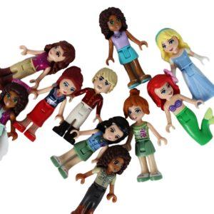 x5 LEGO® Friends Figs