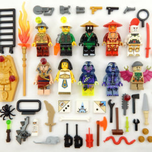 NEW Lego Short Female Girl Minifig BLACK HAIR Long Male//Boy Prince Dastan Style